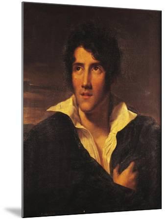 Portrait of Alessandro Manzoni--Mounted Giclee Print