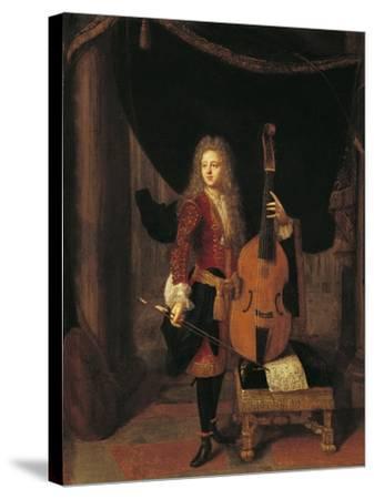 Portrait of Johan Schenk--Stretched Canvas Print
