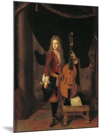 Portrait of Johan Schenk--Mounted Giclee Print