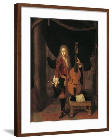 Portrait of Johan Schenk--Framed Giclee Print