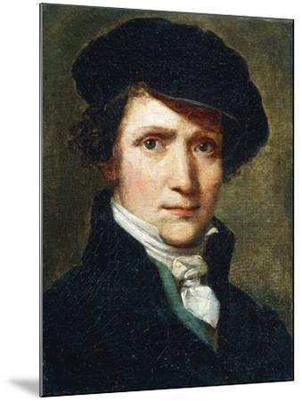 Self-Portrait-Joseph Craffonara-Mounted Giclee Print