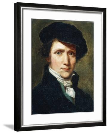 Self-Portrait-Joseph Craffonara-Framed Giclee Print