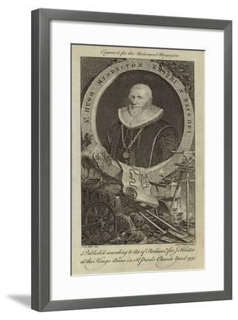 Sir Hugh Myddelton, Knight and Baronet--Framed Giclee Print