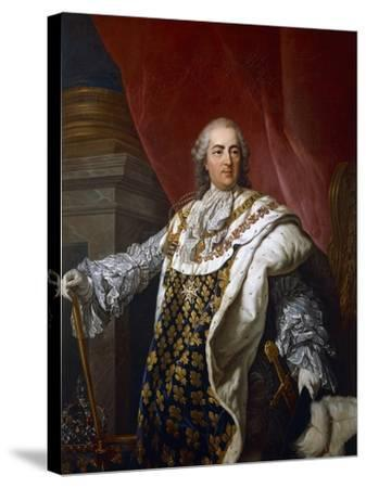 Portrait of Louis XVI of France--Stretched Canvas Print