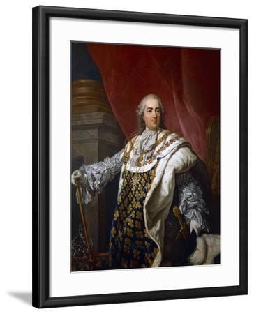Portrait of Louis XVI of France--Framed Giclee Print