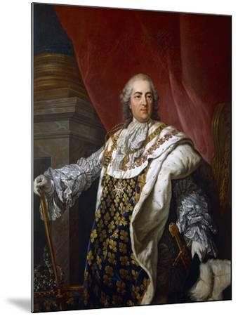 Portrait of Louis XVI of France--Mounted Giclee Print