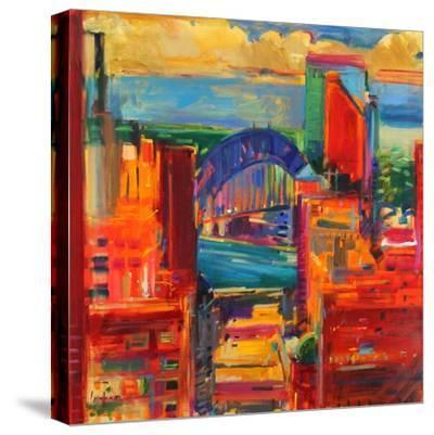 Sydney Harbour Bridge, 2012-Peter Graham-Stretched Canvas Print