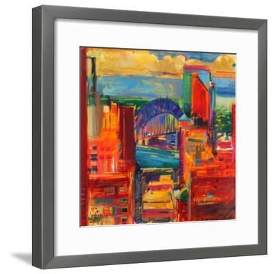 Sydney Harbour Bridge, 2012-Peter Graham-Framed Giclee Print