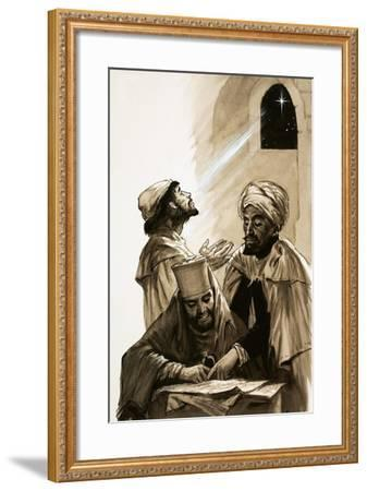 The Three Wise Men--Framed Giclee Print