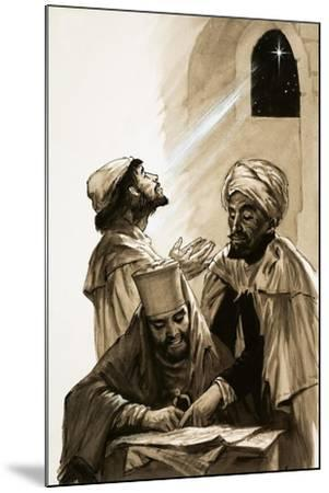 The Three Wise Men--Mounted Giclee Print