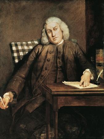 Portrait of Samuel Johnson--Framed Giclee Print