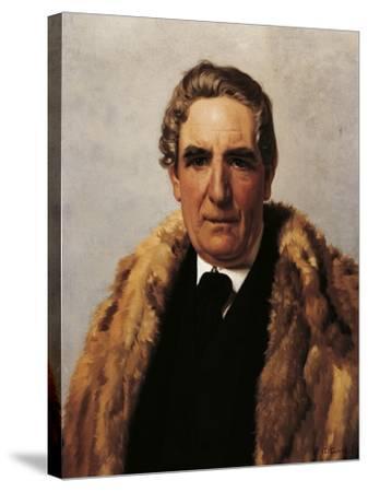 Portrait of Domenico Guerrazzi--Stretched Canvas Print