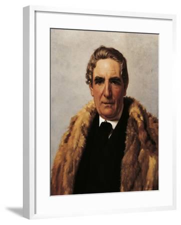 Portrait of Domenico Guerrazzi--Framed Giclee Print