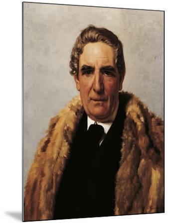 Portrait of Domenico Guerrazzi--Mounted Giclee Print