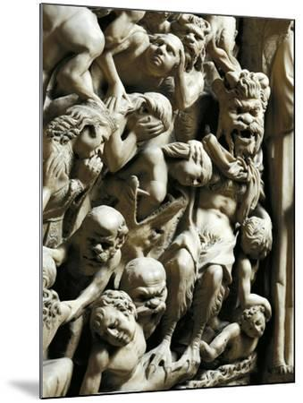 The Damned, Detail from Pulpit-Nicola Pisano-Mounted Giclee Print