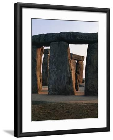 Megalithic Monument of Stonehenge--Framed Photographic Print