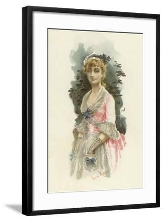 Illustration for the School for Scandal-Lucius Rossi-Framed Giclee Print