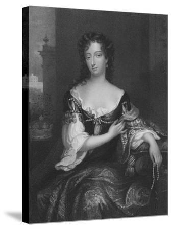Mary, First Duchess of Devonshire--Stretched Canvas Print