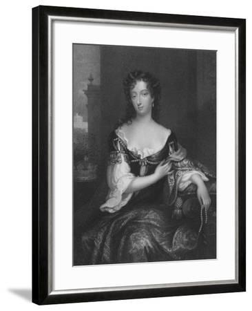 Mary, First Duchess of Devonshire--Framed Giclee Print