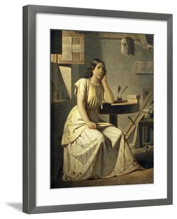 Dejected Art, 1876-Angelo Recchia-Framed Giclee Print