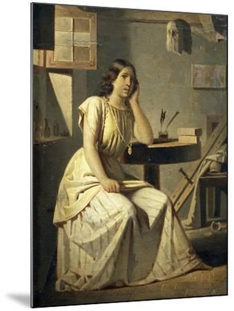 Dejected Art, 1876-Angelo Recchia-Mounted Giclee Print