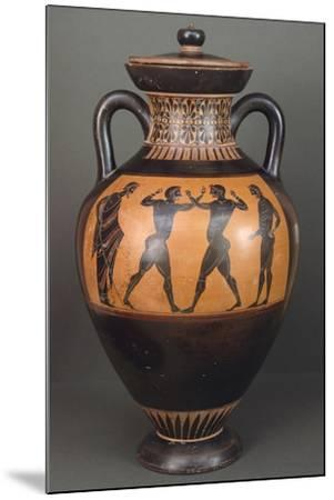 Amphora. Black-Figure Pottery from Vulci--Mounted Giclee Print
