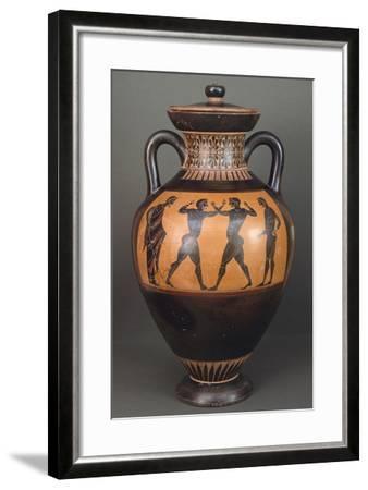 Amphora. Black-Figure Pottery from Vulci--Framed Giclee Print