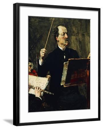 Portrait of Emanuele Muzio--Framed Giclee Print