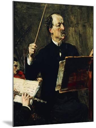 Portrait of Emanuele Muzio--Mounted Giclee Print