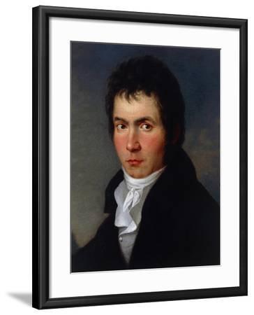 Portrait of Ludwig Van Beethoven--Framed Giclee Print