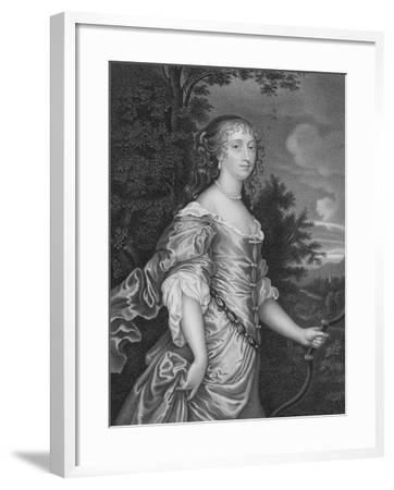 Frances, Duchess of Richmond-Sir Peter Lely-Framed Giclee Print