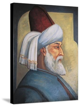 Portrait of Gialal Al-Din Rumi--Stretched Canvas Print