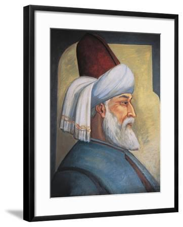 Portrait of Gialal Al-Din Rumi--Framed Giclee Print