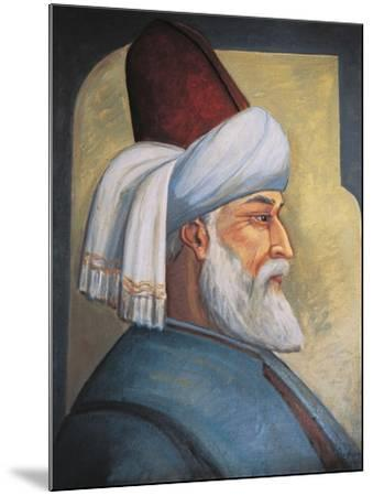 Portrait of Gialal Al-Din Rumi--Mounted Giclee Print