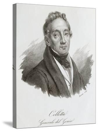 Portrait of Pietro Colletta--Stretched Canvas Print