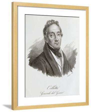 Portrait of Pietro Colletta--Framed Giclee Print