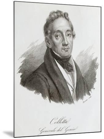 Portrait of Pietro Colletta--Mounted Giclee Print