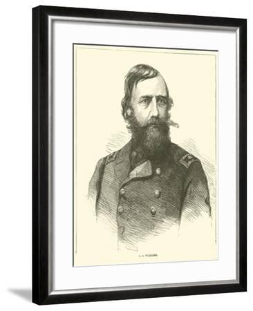 A S Williams, March 1865--Framed Giclee Print