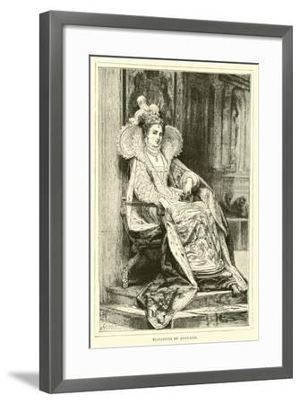 Elizabeth of England--Framed Giclee Print