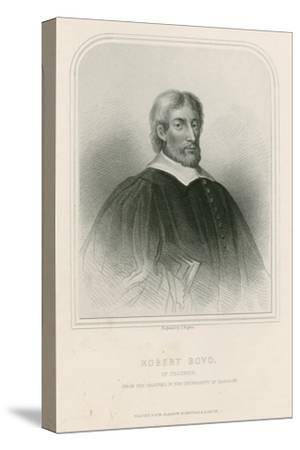 Robert Boyd of Trochrig--Stretched Canvas Print