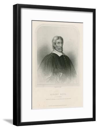 Robert Boyd of Trochrig--Framed Giclee Print