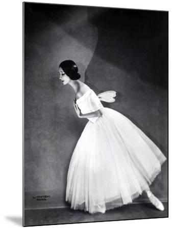 Ballerina--Mounted Photographic Print