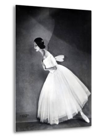 Ballerina--Metal Print