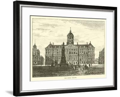 The Royal Palace--Framed Giclee Print