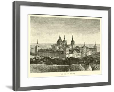 The Escurial Palace--Framed Giclee Print