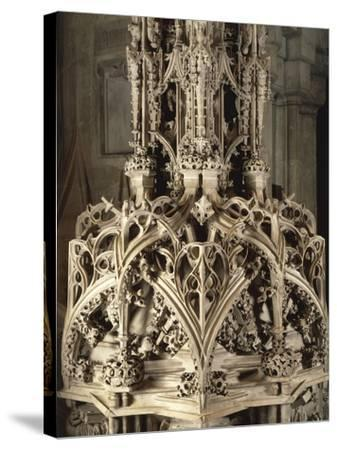 Austria, Vienna, Saint Stephen's Catherdal--Stretched Canvas Print