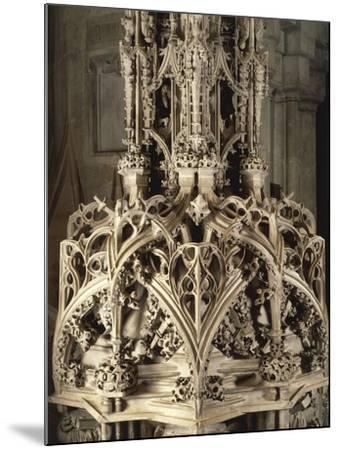 Austria, Vienna, Saint Stephen's Catherdal--Mounted Giclee Print