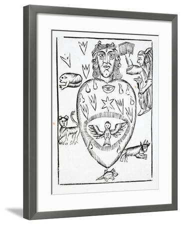 The State of Man Regretting Having Offended God--Framed Giclee Print
