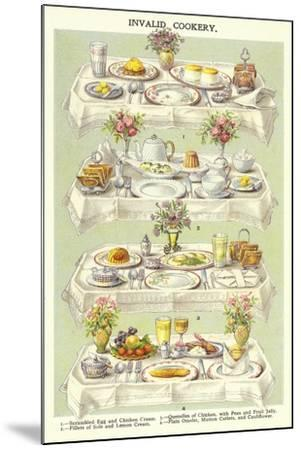Invalid Cookery--Mounted Giclee Print