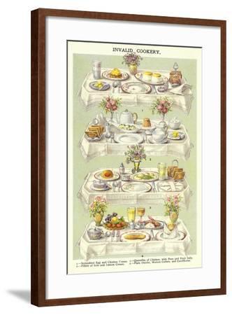 Invalid Cookery--Framed Giclee Print